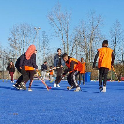 Geslaagde hockeyclinic Wintergames